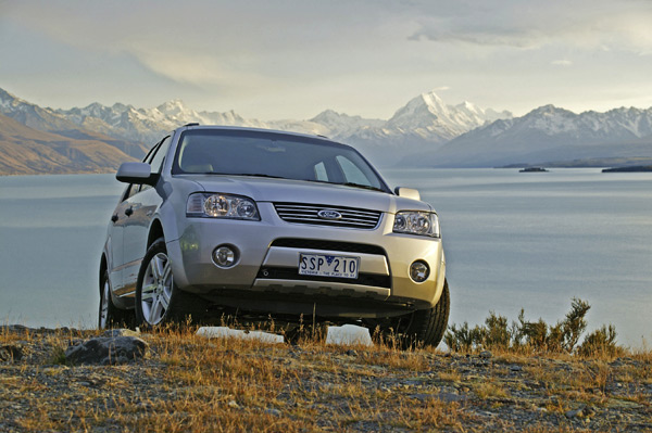 Now that's a pretty Ford Territory